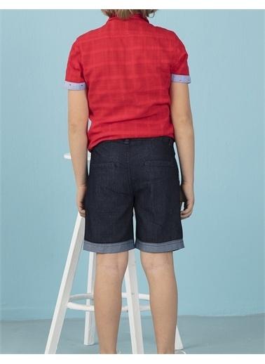 Ollie & olla Kırmızı Erkek Çocuk Gömlek Kırmızı